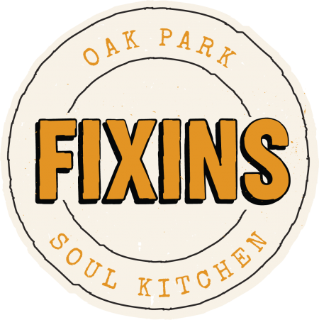 Fixins Gold Round Logo